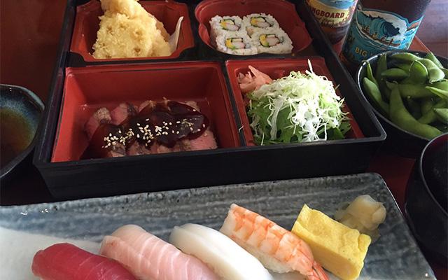 寿司しおの デラックスコース