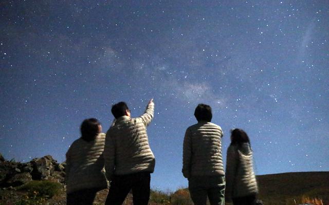 グルメ&星の観測ツアー