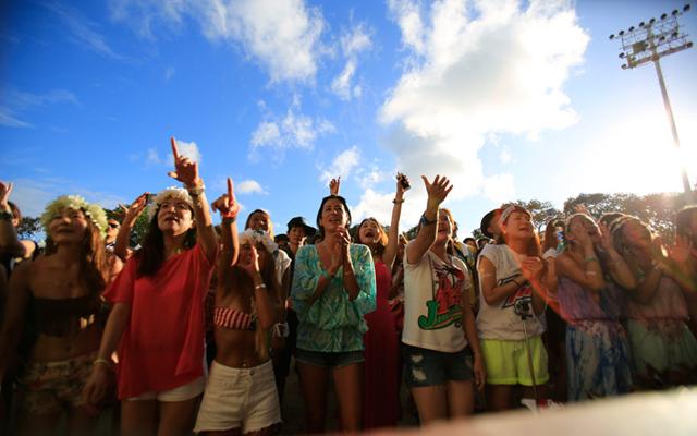 GREENROOM FESTIVAL Hawaii'18  JTB特典付き入場チケット
