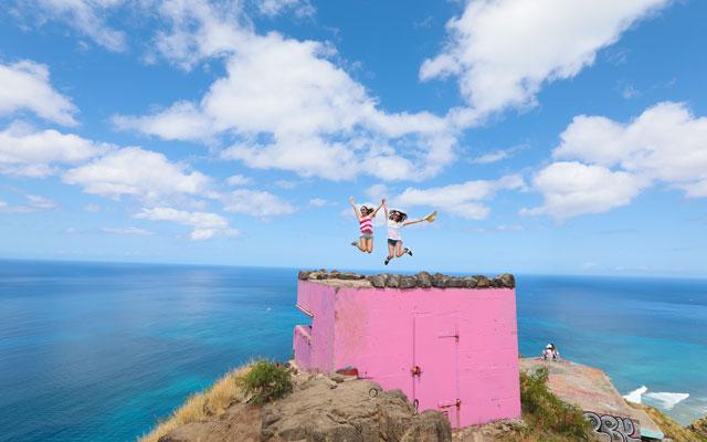 ピンクのピルボックス、マーメイドケイブ