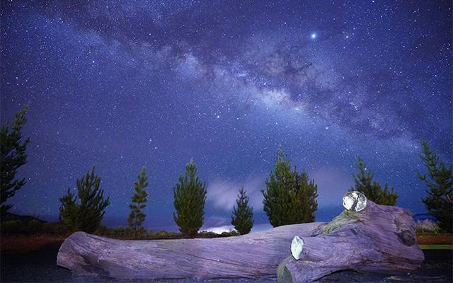 ビーチサンセットとコーヒーロースト体験&マウナケア山麓星空観測ツアー