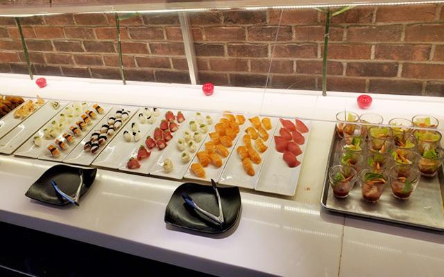 【マイバス オリジナル】 ディナー&シティ・ライト・タンタラス  カク寿司&シーフード・ビュッフェ