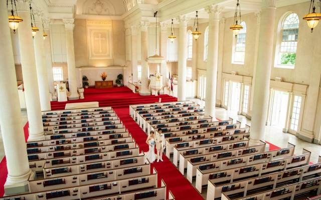 セントラルユニオン教会大聖堂&ビーチフォトプラン