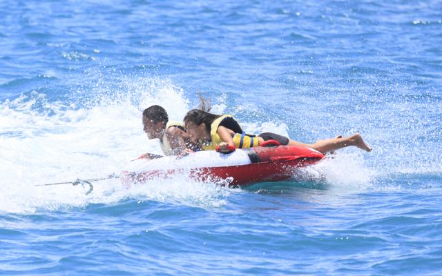 バンパーチューブとバナナボート